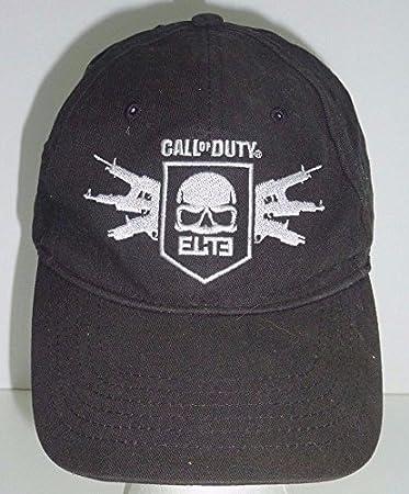 Amazon.com  Call of Duty MW3 Elite Black Baseball Cap with Skull and ... 60b28ff3ca02