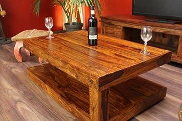 Couchtisch,Tisch,Designer,Holz,Massiv,Neu,Bali,110x70cm