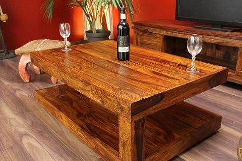 Couchtisch,Tisch,Designer,Holz,Massiv,Neu,Bali,110X70Cm: Amazon.De