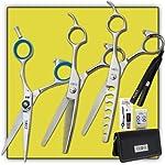 Joewell M4 5.5″ Shear / Scissor Combo + Thinner, Blender, Iron & Case