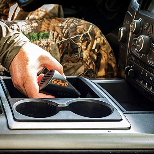 New and Improved Maintenance-Free Vehicle Air Cleaner Removes Smoke Scent Crusher Ozone Go Max and Pet Odors Food