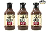 G Hughes Sugar Free Hickory BBQ Sauce 18 oz (3 Pack)