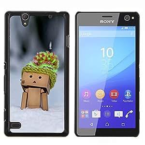 For Sony Xperia C4 Case , Caja divertida linda Hombre- Diseño Patrón Teléfono Caso Cubierta Case Bumper Duro Protección Case Cover Funda