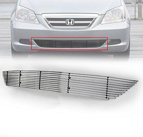 [ZMAUTOPARTS Honda Odyssey Front Bumper Lower Billet Grille Grill Insert EXl EXL LX] (Odyssey Billet)
