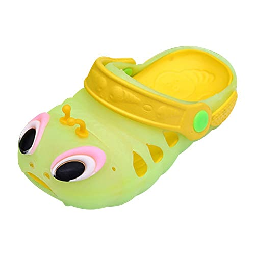 a835d3c5c4c6 Image Unavailable. Image not available for. Color  Luckyauction Toddler  Kids Summer Cartoon Baby Shoes EVA Caterpillars Beach Sandals ...