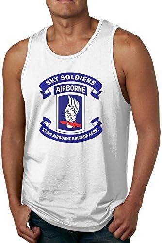 NRYDYMM Mens Sleeveless T Shirt US Air Force Veteran-1 100/% Cotton Bodybuilding T Shirt