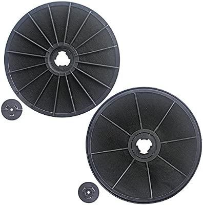 Spares2go Carbón Carbón Ventilación Filtro para Ariston Cocina Campana Extractora/Extractor Ventilación (Pack de 2): Amazon.es: Hogar