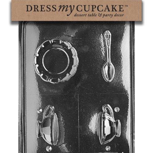 Dress My Cupcake Chocolate Candy Mold, Tea Cup