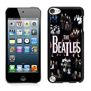Beautiful Designed Case With Beatles Rock Band Black For iPod Touch 5 Phone Case
