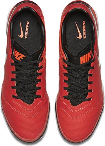 uomo Orange Lt ttl Slvr Block KO Crmsn Mtllc Rot Nike con Crmsn Versilbert cappuccio felpa 5wzxY7qA