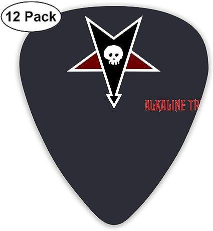 Alkaline_Trio Púas de guitarra (paquete de 12) para guitarra ...