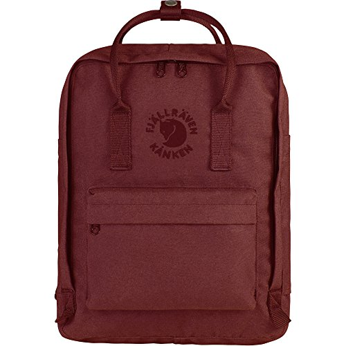 Fjallraven - Kanken, Re-Kanken Recyclable Pack, Heritage and Responsibility Since 1960, Ox Red