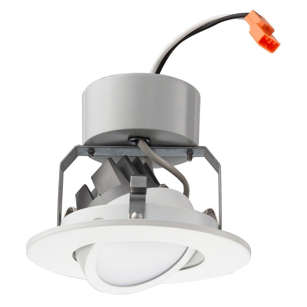Lithonia Lighting 4G1MW LED 27K 90CRI M6 2700K LED Gimbal Module, 4'', Matte White