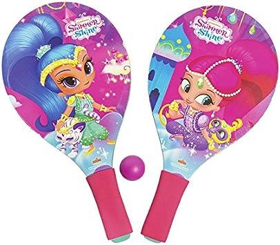 Shimmer y Shine – Juego de raquetas con pelota blanda para playa ...