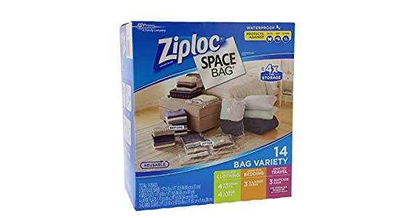 Amazon.com: Bolsa Ziploc cerrada al vacío: Home & Kitchen