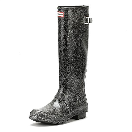 Hunter Womens Original Starcloud Tall Rain Boots Black