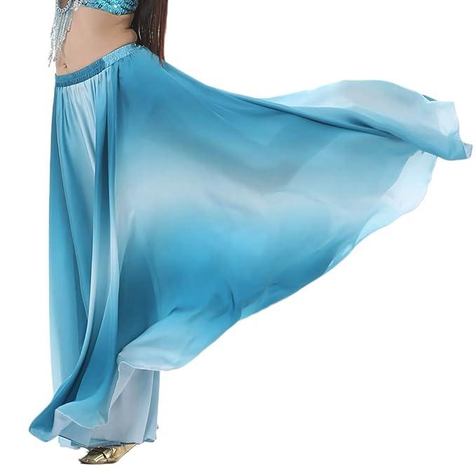 Mujer Falda Grande del Swing De Gypsy Tribal Danza del Vientre ...