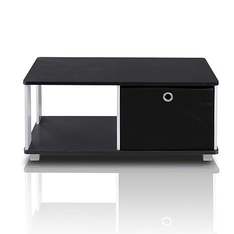 Amazon.com: Mesa de café con 4 cajones tipo ...
