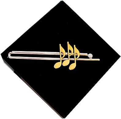 Notas musicales música corbata Aguja Alfiler de Corbata bicolor ...