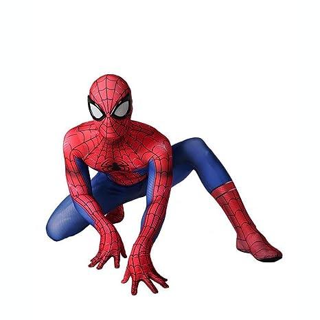 wdegr NiñO Adulto Spiderman Ropa Cosplay Vestido Superhéroe ...