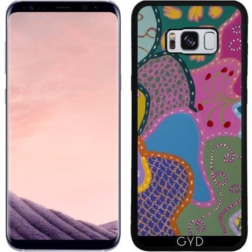 Funda de silicona para Samsung Galaxy S8 Plus (SM-G955) - Patrones De Otra Galaxia by Helen Joynson