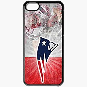 Personalized iPhone 5C Cell phone Case/Cover Skin 986 new england patriots Black