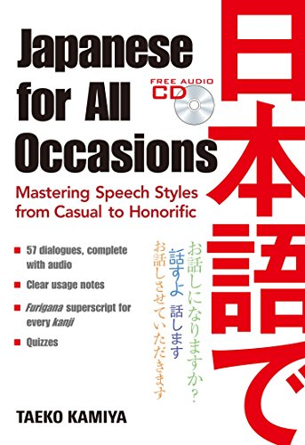 Multi Cd Collection Format (Japanese for All Occasions: Mastering Speech Styles from Casual to Honorific)