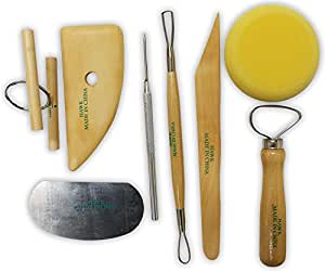 Artists best - 8 Piece Carving and Sculpting Set For Clay and Wax