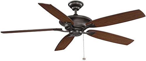 Hampton Bay YG593-EB Ashburton 60in. Indoor Espresso Bronze Ceiling Fan