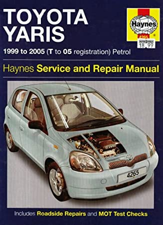 toyota yaris petrol service and repair manual 1999 to 2005 r m rh amazon co uk Toyota Yaris Manual Book Toyota Yaris Manual