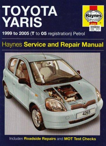 toyota yaris petrol service and repair manual 1999 to 2005 robert rh amazon com service manual toyota yaris pdf service manual toyota yaris 2005