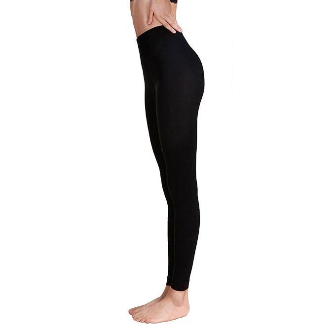 HARRYSTORE Leggings Pantalones Elásticos de Mujer Pitillo ...