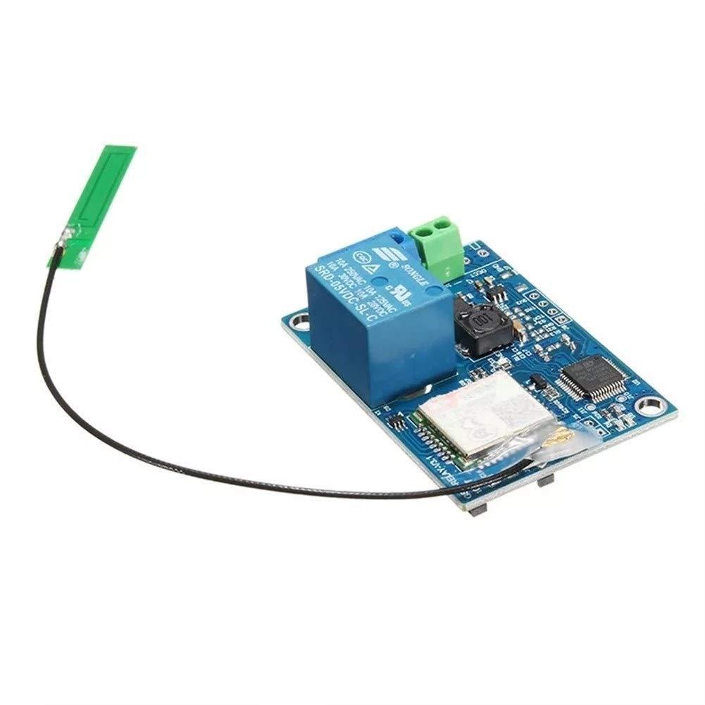 Hjhjghj G-R-18V-1 gsm Tarjeta de Control de relé Soporte Teléfono ...