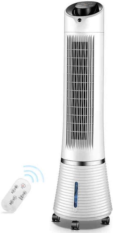 ZHJYD Ventilador de Torre Oscilación, Set de Pantalla Redonda ...