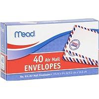 Mead # 6 3/4 Sobres de Correo Aéreo, 40 Cantidad (74212)