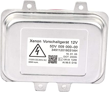 QKPARTS Xenon HID BALLASTS CONTROL UNIT For 97-03 BMW E39 525i 528i 530i 540i M5