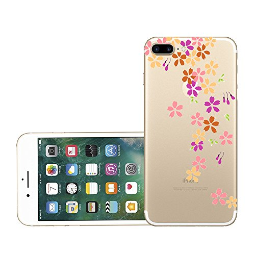 Vanki® iPhone 7 Plus Funda, Protectiva Carcasa de Silicona de gel TPU Transparente, Ultra delgada Amortigua los golpes Case Cover Para iPhone 7 Plus H