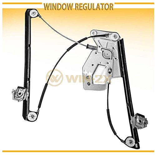 (WIN-2X New 1pc Front Driver Left Side Power Window Regulator Without Motor Fit 97-03 BMW E39 5-Series/M5)
