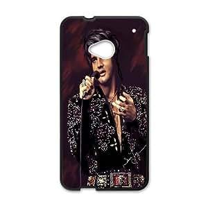 Elvis Presley 001 HTC One M7 Cell Phone Case Black TPU Phone Case RV_531764