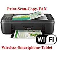 Pixma Mx492 Wireless All-In-One Photo Inkjet Printer, Copy/Fax/Print/Scan