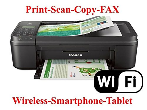 One Print Fax - Pixma Mx492 Wireless All-In-One Photo Inkjet Printer, Copy/Fax/Print/Scan