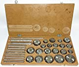 Valve Seat & Face Cutter Set / Kit - 21 Pcs Set for Vintage Cars & Bikes in Wooden Case