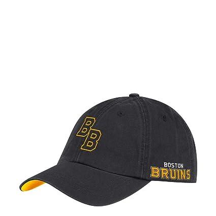 Amazon.com   adidas Boston Bruins Men s Dad Hat Adjustable Cap ... 52a7316a53c