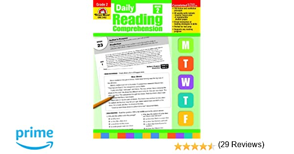 Amazon.com: Daily Reading Comprenesion, Grade 2 (Daily Reading ...