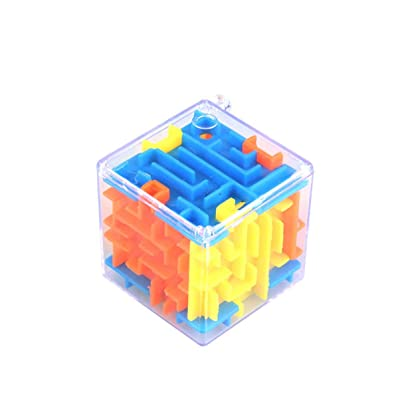 Lironheel Small Three-Dimensional Labyrinth Magic Maze Universal 3D Baby Intelligence Toy Educational Toys Portable Kid Gifts: Home & Kitchen