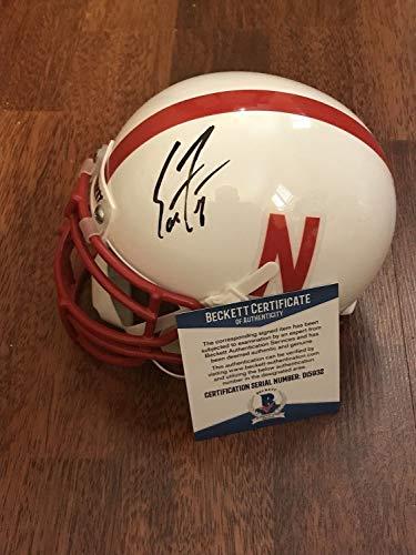 Scott Frost Hand Autographed Signed Memorabilia Nebraska Cornhuskers Mini Helmet With - Beckett Authentic