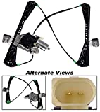 APDTY XR837314 Window Motor Regulator Assembly Fits Front Right 2000-2002 Jaguar S-Type or Lincoln LS (Replaces XR837314, XR8048086, YW4Z-5423208-AA)