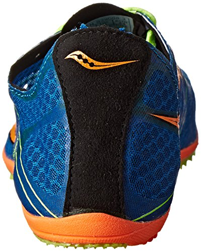 Saucony Mens Endorphin LD4 Track Shoe,Royal/Citron/Vizi Orange,11.5 M US Royal/Citron/Vizi Orange