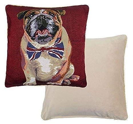 Relleno British Bulldog Tapiz Terciopelo de Algodón Union ...