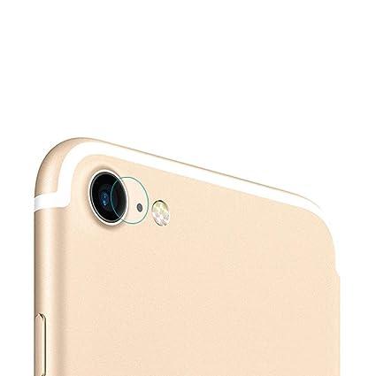 5d8abb02429 Kobwa cámara trasera lente pantalla para iPhone 7/7 Plus, cristal claro  dureza vidrio
